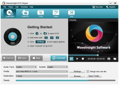 WaveInsight DVD Ripper