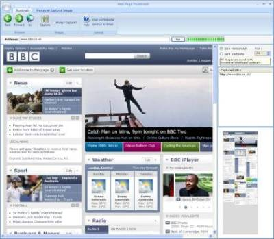 Web Page Thumbnails