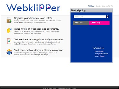 WebkliPPer