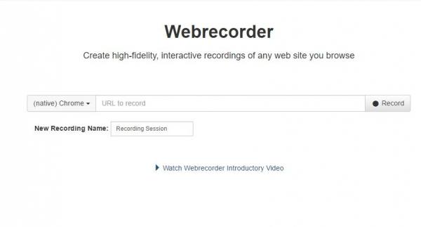 Webrecorder