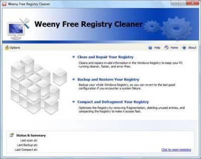 Weeny Free Registry Cleaner