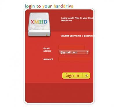 Xmail Hard Drive