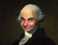 10 ritratti di Mr. Bean all'interno d...