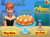 Anna Cooking Cheese ...