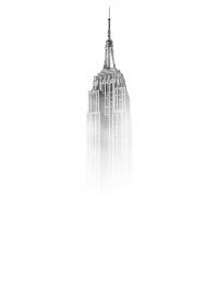 Empire State Building tra la nebbia