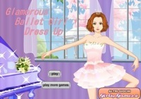 Glamorous Ballet Girl Dress Up