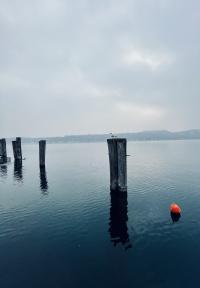Il blu nel lago