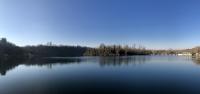 Il fiume Adda in panoramica