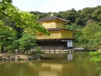 Il tempio d'oro in Giappone