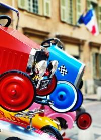 Macchine a pedali coloratissime