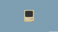 Minimal iMac Wallpaper