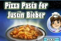 Pasta Pizza For Justin Bibber