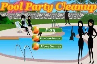 Pool Party Clean Up