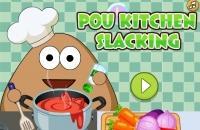 Pou Kitchen Slacking