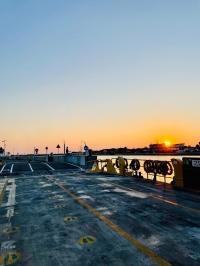Sunset on Ferry
