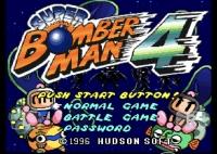 Super Bomberman 4