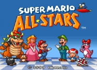 Super Mario All Stars Usa